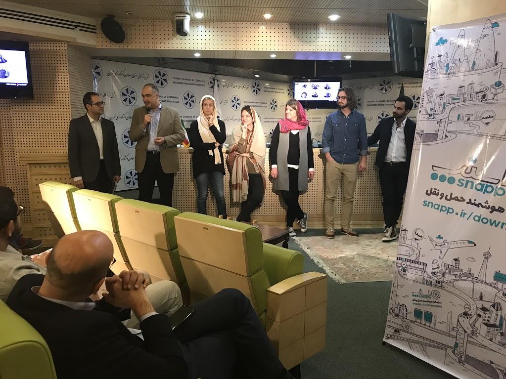 داوران ایرانی و خارجی رویداد استارتاپ جاده ابریشم تهران