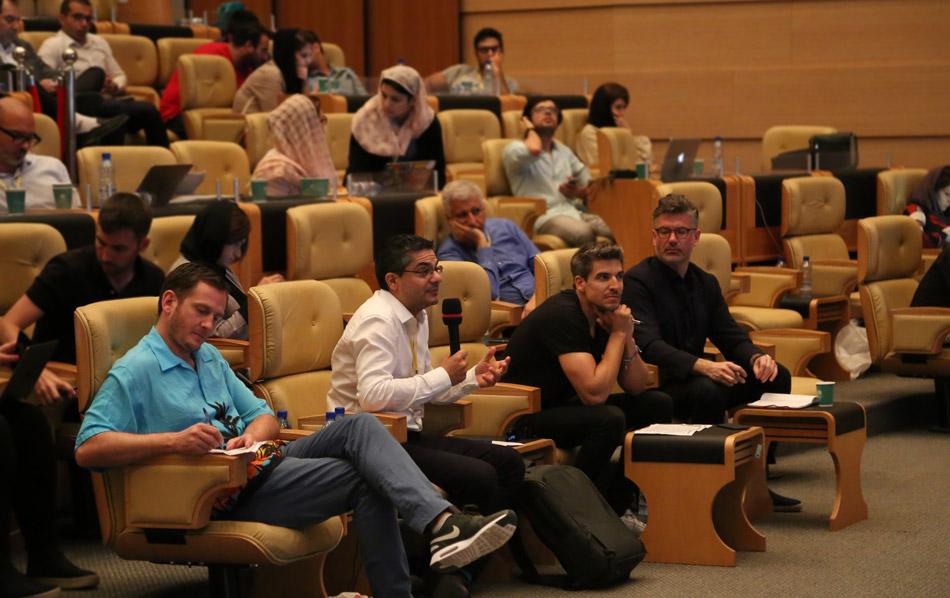 هیئت داوران رویداد استارتاپ جاده ابریشم - عکس از محمدرضا رزم پور